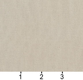 Essentials Cotton Duck Ivory Upholstery Drapery Fabric / Parchment