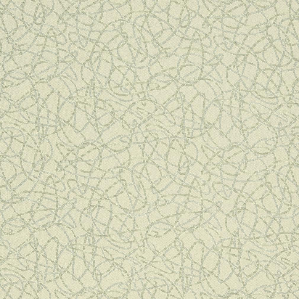 Essentials Stain Repellent Upholstery Fabric Ivory / Squiggles Buff