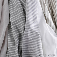 Load image into Gallery viewer, SCHUMACHER TORI STRIPE FABRIC / ROSE