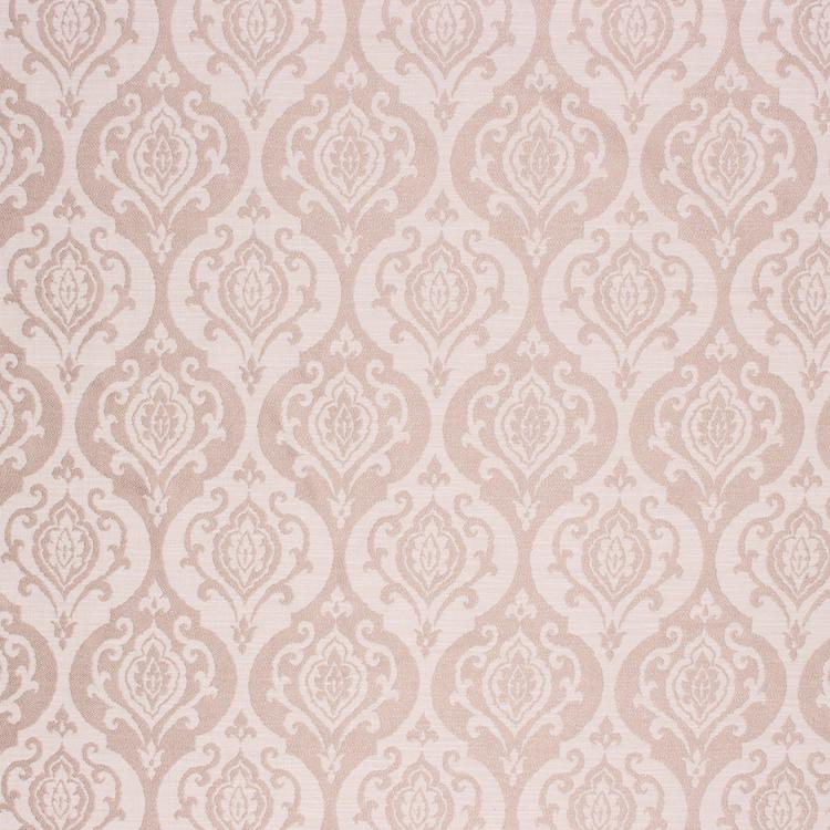 Medallion Upholstery Drapery Fabric Lilac / Linen RMIL1