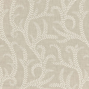 SCHUMACHER BOBOLI EMBROIDERY FABRIC / LINEN