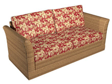 Load image into Gallery viewer, Essentials Outdoor Upholstery Drapery Leaf Branches Fabric / Red Beige