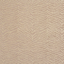 Load image into Gallery viewer, Essentials Chenille Light Brown Cream Animal Pattern Zebra Tiger Upholstery Fabric