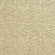 Load image into Gallery viewer, Essentials Chenille Light Olive Cream Animal Pattern Zebra Tiger Upholstery Fabric