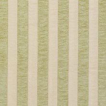 Load image into Gallery viewer, Essentials Chenille Light Olive Cream Stripe Upholstery Fabric