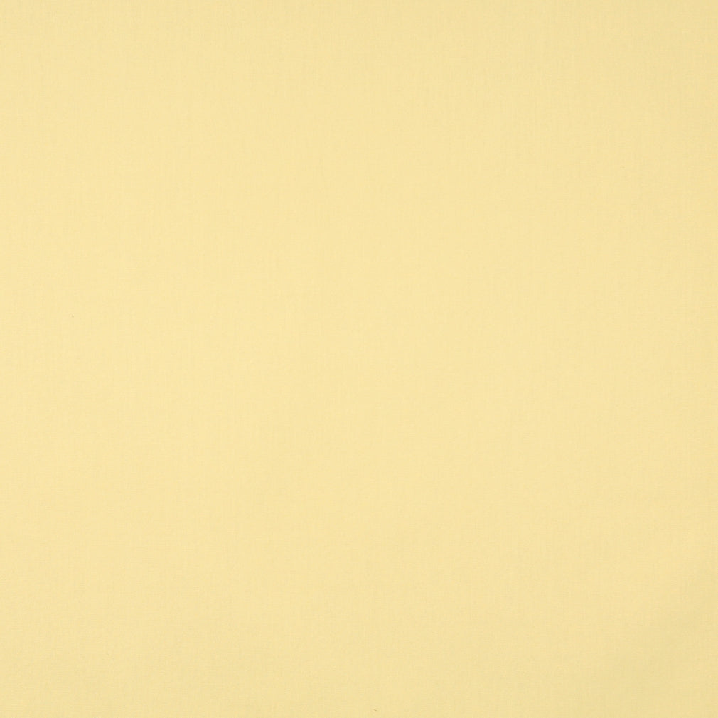 Essentials Cotton Duck Light Yellow Upholstery Drapery Fabric / Lemon