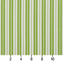 Load image into Gallery viewer, Essentials Outdoor Lime Classic Green Stripe Upholstery Fabric