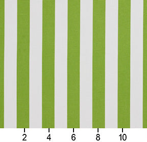 Essentials Outdoor Lime Canopy Green White Stripe Upholstery Fabric