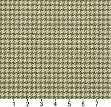 Load image into Gallery viewer, Essentials Lime White Upholstery Fabric / Spring Houndstooth