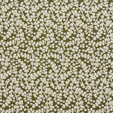 Load image into Gallery viewer, Essentials Lime White Upholstery Fabric / Spring Vine