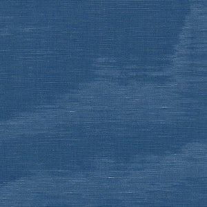 SCHUMACHER INCOMPARABLE MOIRE FABRIC / MARINE