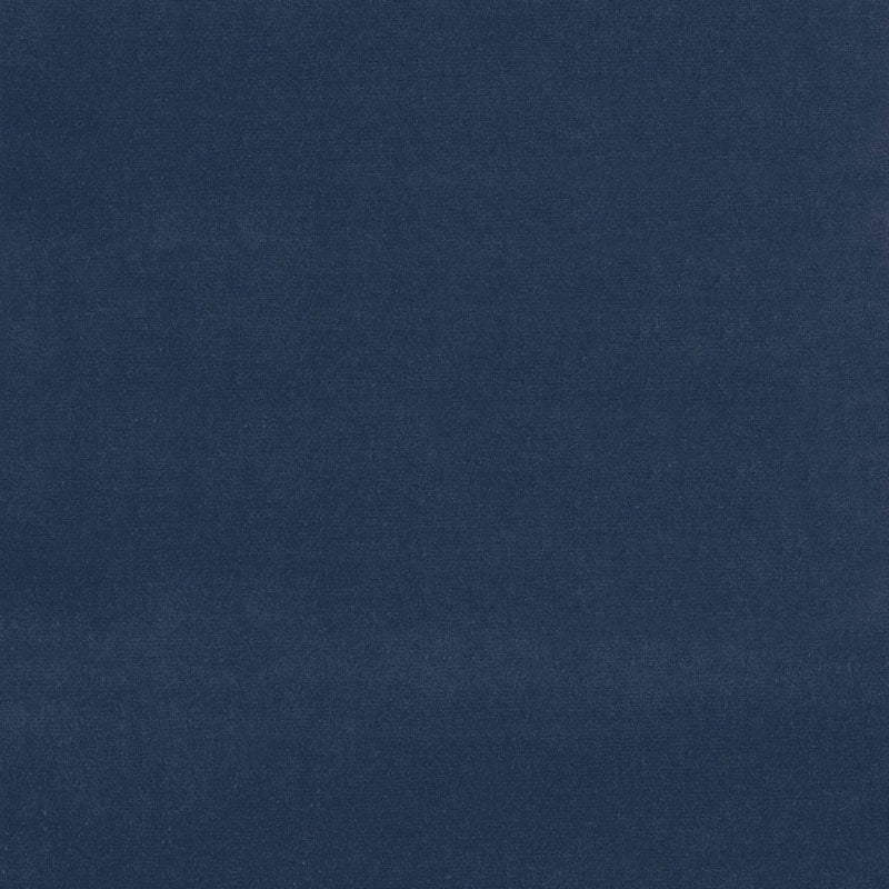 SCHUMACHER GAINSBOROUGH VELVET FABRIC / MIDNIGHT