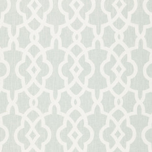 SCHUMACHER SUMMER PALACE FRET FABRIC / MINERAL