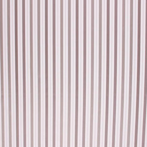 Satin Stripe Upholstery Drapery Fabric Taupe Beige / Misty