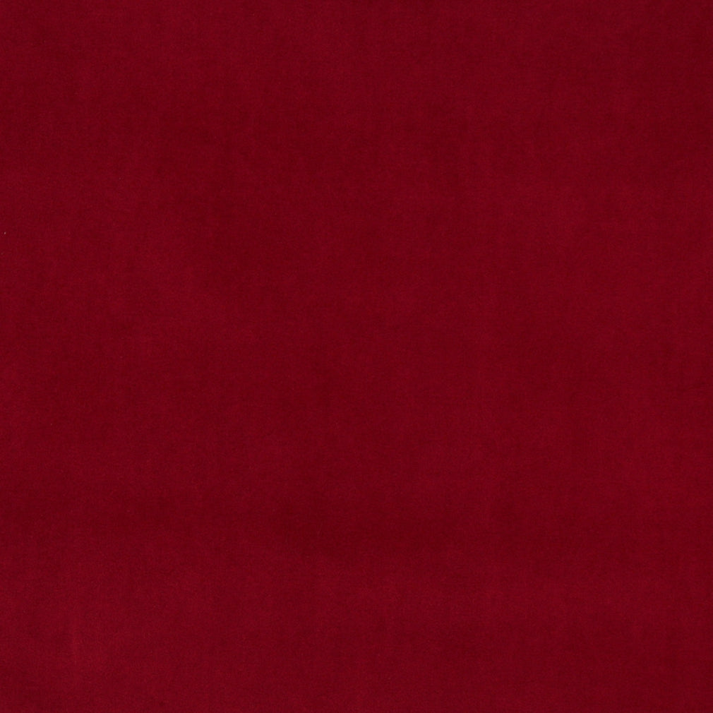 Essentials Cotton Velvet Maroon Upholstery Drapery Fabric