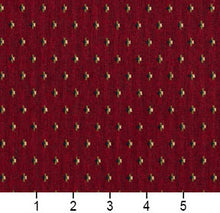 Load image into Gallery viewer, Essentials Maroon Lime Navy Beige Upholstery Fabric / Port Dot
