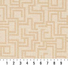 Load image into Gallery viewer, Essentials Indoor Outdoor Upholstery Drapery Maze Fabric Beige / Sand Geometric