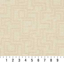 Load image into Gallery viewer, Essentials Indoor Outdoor Upholstery Drapery Maze Fabric / Ivory Geometric