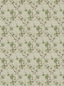 3 Colorways Botanical Upholstery Fabric Blue Green Beige