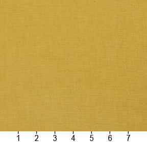 Essentials Cotton Duck Mustard Upholstery Drapery Fabric / Citrus
