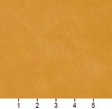 Load image into Gallery viewer, Essentials Breathables Mustard Heavy Duty Faux Leather Upholstery Vinyl / Saffron