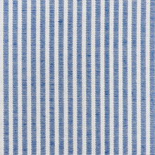Load image into Gallery viewer, SCHUMACHER EASTON STRIPE INDOOR OUTDOOR FABRIC / NAVY
