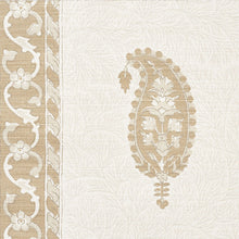 Load image into Gallery viewer, SCHUMACHER OJAI PAISLEY FABRIC / NEUTRAL