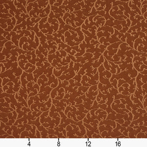 Essentials Upholstery Drapery Botanical Fabric / Brown