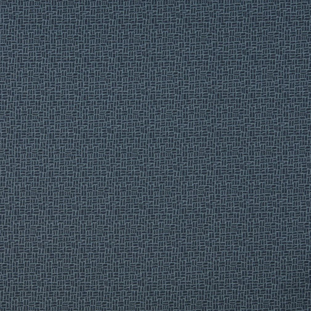 Essentials Navy Abstract Upholstery Fabric / Admiral