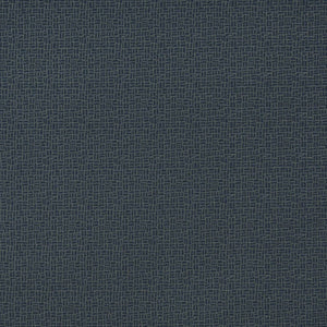 Essentials Navy Abstract Upholstery Fabric / Pacific