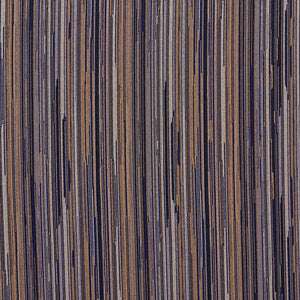 Essentials Navy Blue Beige Stripe Upholstery Fabric / Azure