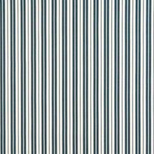 Load image into Gallery viewer, Essentials Outdoor Navy Blue Classic Stripe Upholstery Fabric