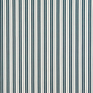 Essentials Outdoor Navy Blue Classic Stripe Upholstery Fabric