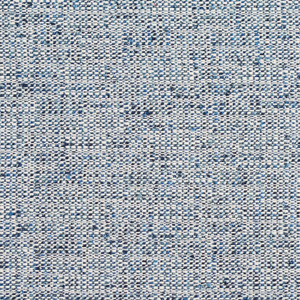 Essentials Crypton Navy Blue White Upholstery Fabric / Cove