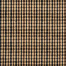 Load image into Gallery viewer, Essentials Black Brown Beige Plaid Upholstery Fabric / Espresso Check