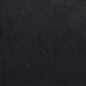 Essentials Breathables Black Heavy Duty Faux Leather Upholstery Vinyl / Onyx