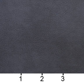 Essentials Breathables Navy Heavy Duty Faux Leather Upholstery Vinyl / Slate