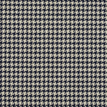 Load image into Gallery viewer, Essentials Navy White Upholstery Fabric / Cobalt Houndstooth