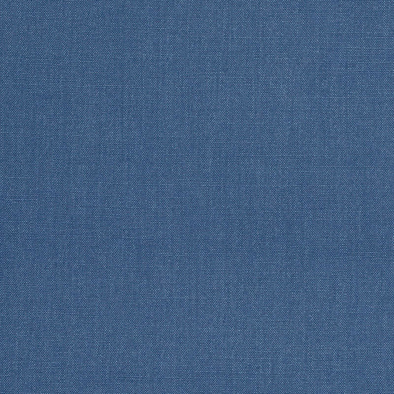 SCHUMACHER SAVANNAH LINEN FABRIC / OCEAN