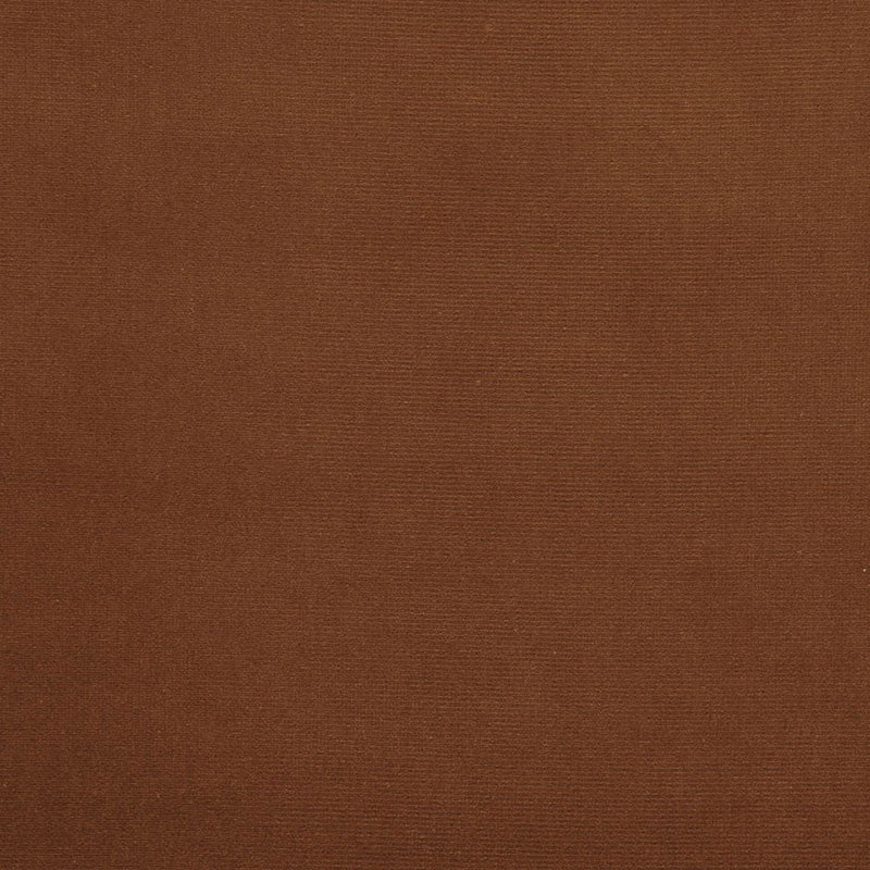 SCHUMACHER GAINSBOROUGH VELVET FABRIC / OCHRE