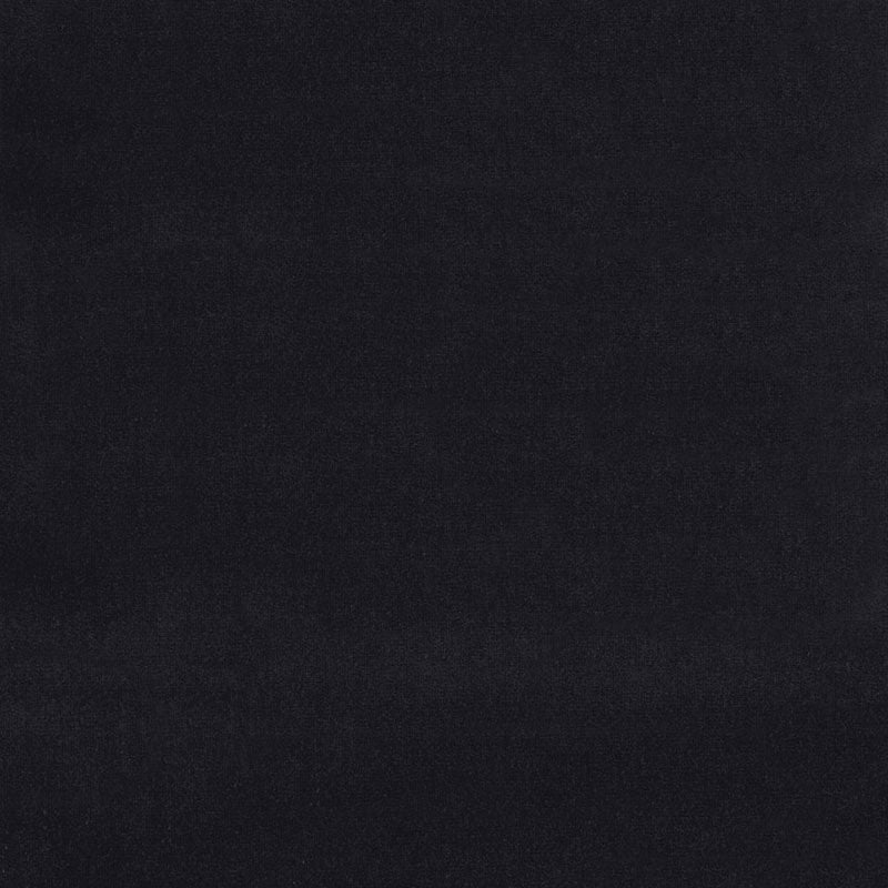 SCHUMACHER GAINSBOROUGH VELVET FABRIC / ONYX