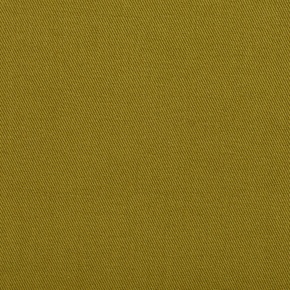 Essentials Cotton Twill Olive Upholstery Fabric / Pesto