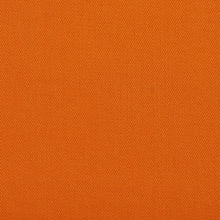 Load image into Gallery viewer, Essentials Cotton Twill Orange Upholstery Fabric / Mandarin