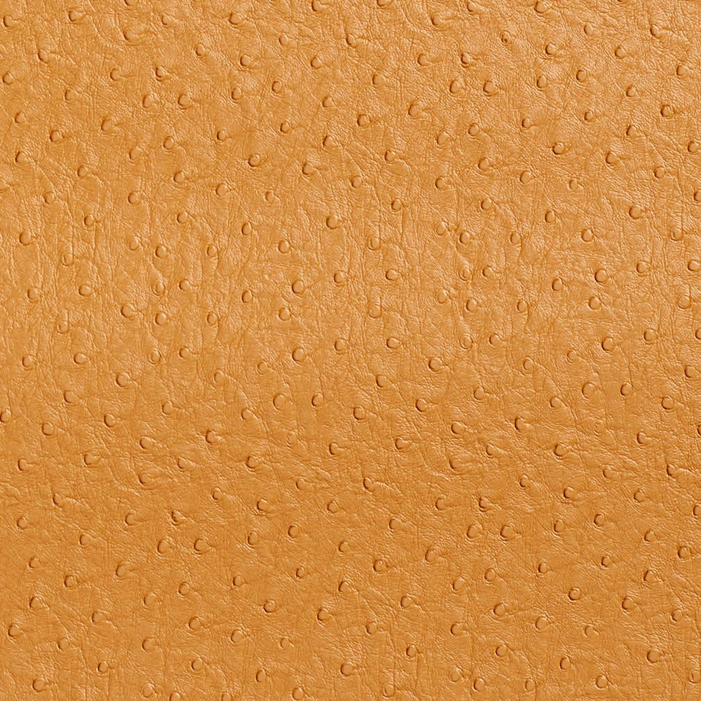 Essentials Marine Auto Upholstery Vinyl Ostrich Fabric Gold / Camel