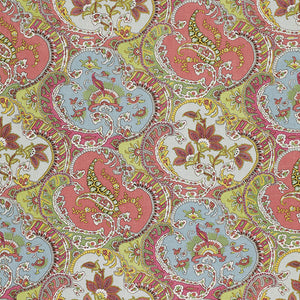 SCHUMACHER PICKFAIR PAISLEY FABRIC / MULTI