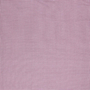 Cotton Tiny Houndstooth Geometric Drapery Fabric Purple White / Plum