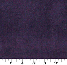 Load image into Gallery viewer, Essentials Cotton Velvet Purple Upholstery Drapery Fabric