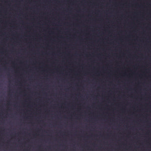 Essentials Cotton Velvet Purple Upholstery Drapery Fabric