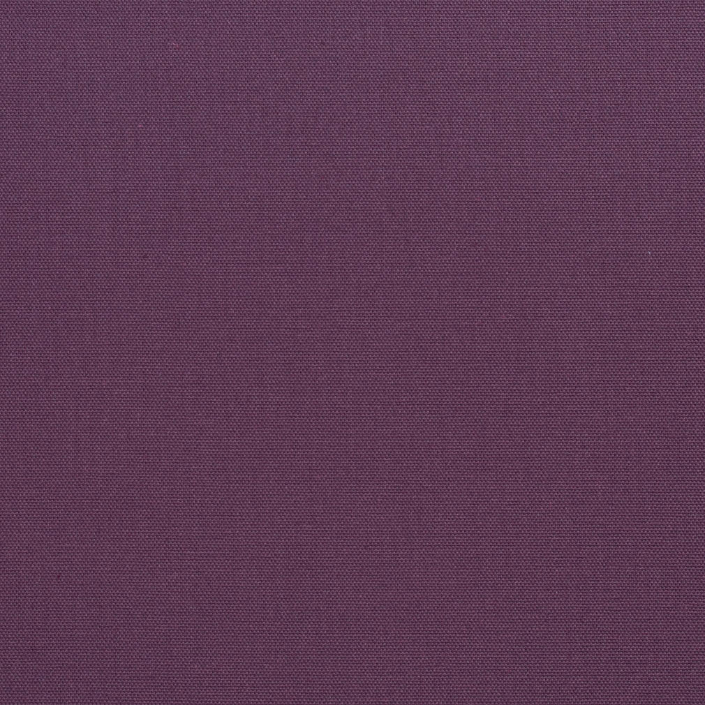 Essentials Cotton Duck Purple Upholstery Drapery Fabric / Plum