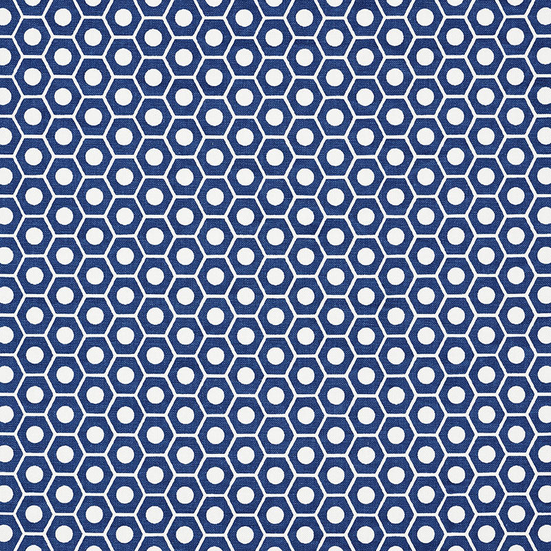 SCHUMACHER QUEEN B FABRIC / NAVY
